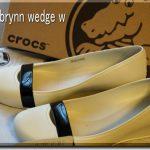 【クロックス】どうしても履きたい靴!美脚見え「クロックス ブリン ウェッジ ウィメン」その1