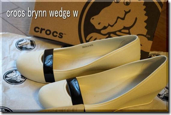 crocs brynn wedge w
