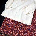 【ストリコ】逃げ恥「百合ちゃんの柄スカート」萌えで♪MURUAラグプリーツスカート着てミタ~