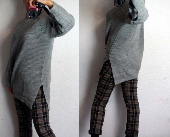 裾のスリット