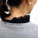 付け襟| FELISSIMOスタッフさん3色コンプ「ふんわり付け衿」♪つけ襟コーデ便利