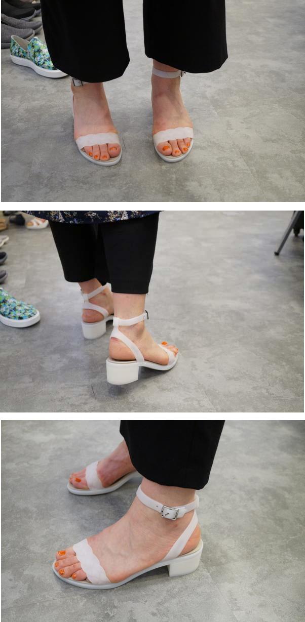 crocs isabella block heel w アングル