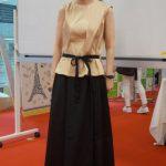 【Kcarat】上品シンプルなブラウスとマキシスカートのセットアップ。大人の素敵なお出かけ服です!