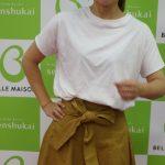 【Kcarat】黒田知永子さんの「大人が一枚で着られるTシャツ」がSALE中♪黒い下着でさえも透けないんだよ~