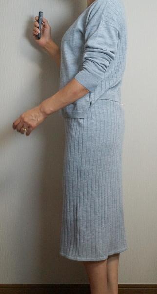 ニットのスカート