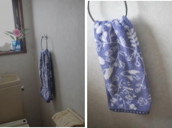 トイレのタオル