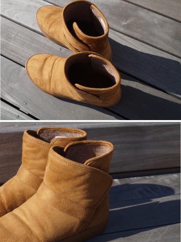 ブーツの使用感