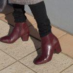【チャンキーヒール・ショートブーツ】3990円には見えな~い!安いのに可愛い&歩きやすいショートブーツ