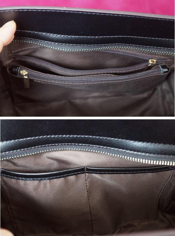 バッグの内側pocket