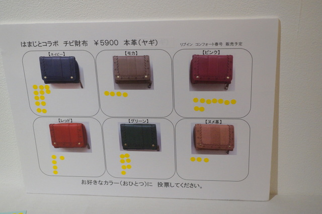 財布のアンケート