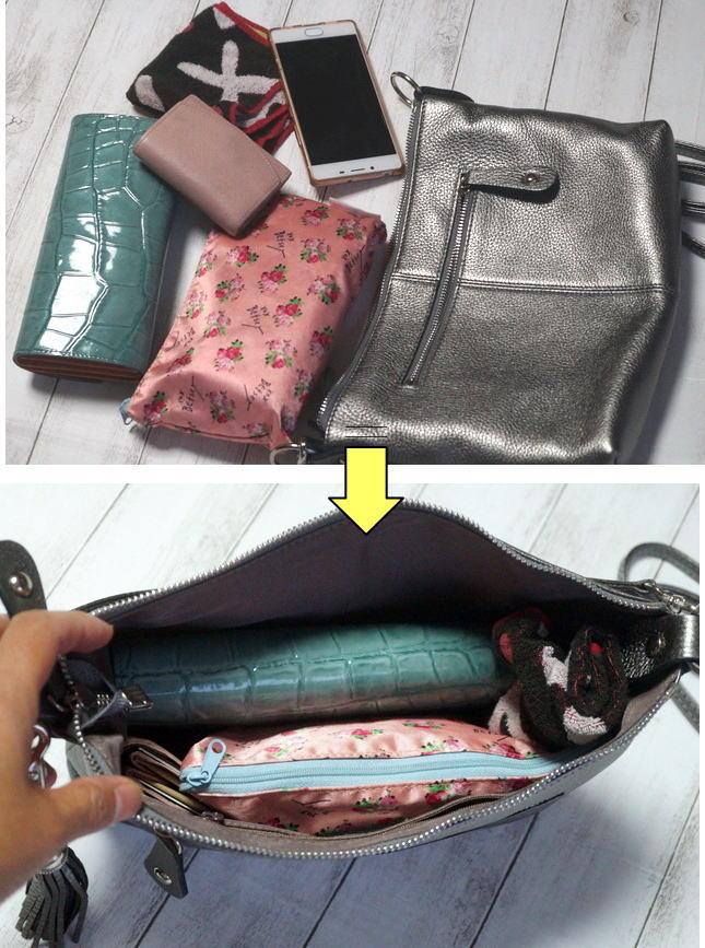 バッグの中身。