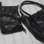 【フェリシモ】リブイン☆星刺繍ポシェット付きトートバッグ☆たくさん入って使いやすい~♪