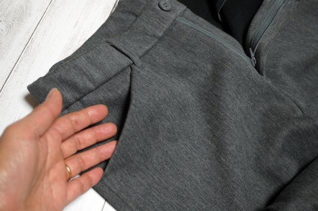 前ポケット