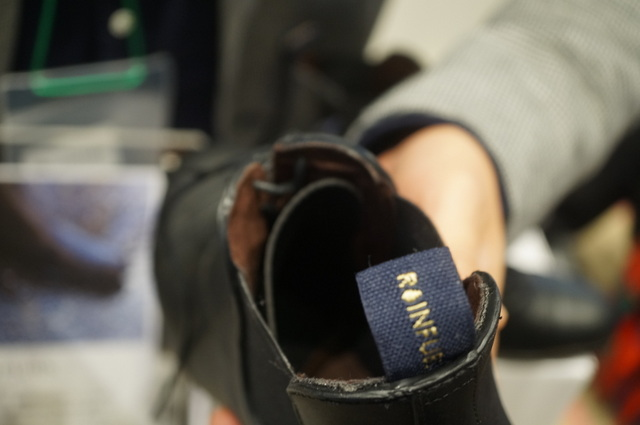レインファブスのブーツ