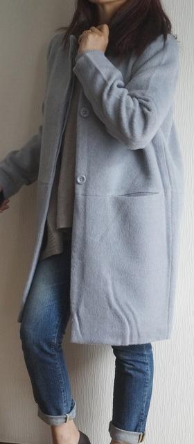 coatのシワ