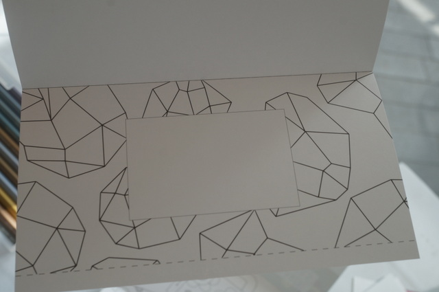 フォトフレーム型紙